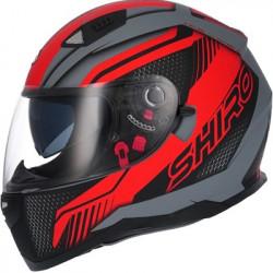 Shiro SH-881 Röd/Grå