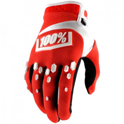 100% AIRMATIC GLOVE - Red/White