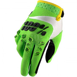 100% AIRMATIC GLOVE - LIME GREEN