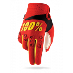 100% AIRMATIC GLOVE - RED