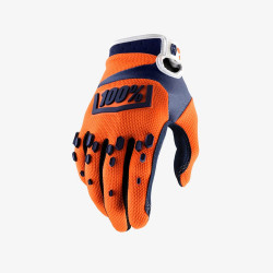 100% AIRMATIC GLOVE - ORANGE/NAVY