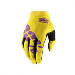 100% !TRACK GLOVE - YELLOW