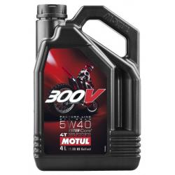 MOTUL 300V 4T FACTORY LINE 5W-40 4 L