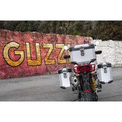 ALUMINIUM PANNIERS SET MOTO GUZZI V85TT