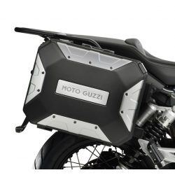 URBAN CASES SET WITH BRACKETS MOTO GUZZI V85 TT
