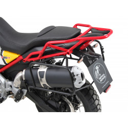 SIDECARRIER PERMANENT MOUNTED - BLACK FOR MOTO GUZZI V85...